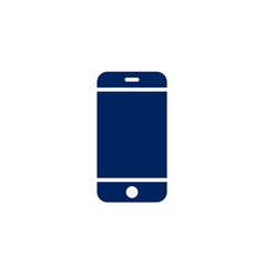 smartphone icon cellphone screen mockup vector image vector image