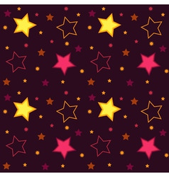 stars background vector image