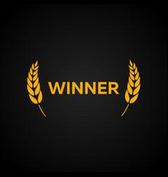 winner laurel film awards winners film awards vector image