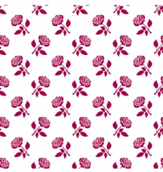 Romantic roses background vector