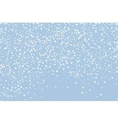 Snow horizontal vector