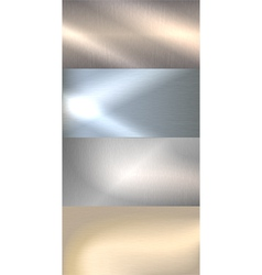 Brushed metal background vector