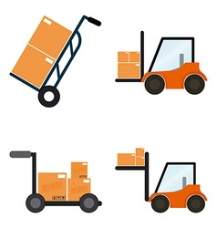 Delivery objects vector