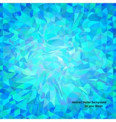 Abstract background with wavy random shapes vector image