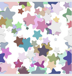 Repeating star pattern background - design from vector