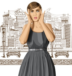 wardrobe vector image vector image