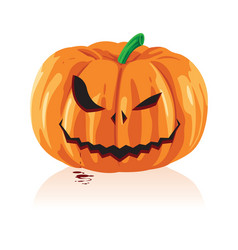 Jack o lanterns and halloween vector