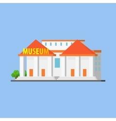 Public city museum vector