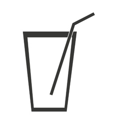 Milk shake isolated icon design vector