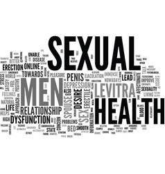 A positive approach towards men s sexual health vector