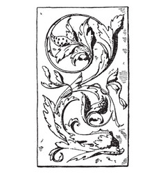 Dolphin panel was designed during the venetian vector