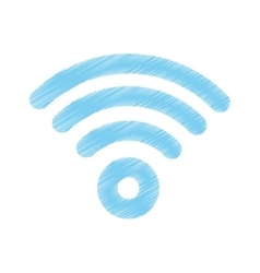 Wifi internet zone vector