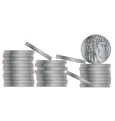 30 pieces of silver vector