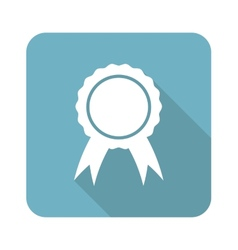Certificate seal icon vector