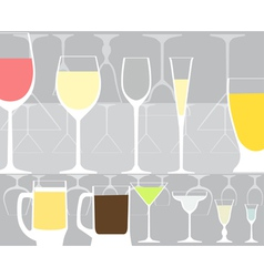 Glass background vector