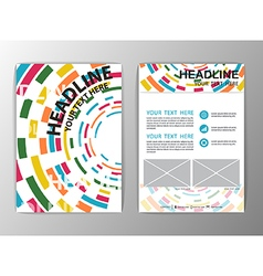 Abstract Background Circle design Business vector image