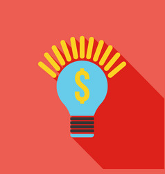 idea icon business concept vector image