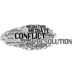 Mediate word cloud concept vector