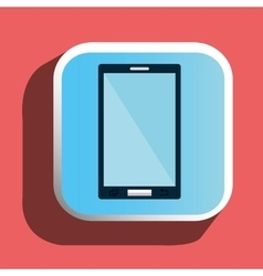 Mobile smartphone icon vector