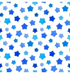 Bright blue watercolor stars background can be vector