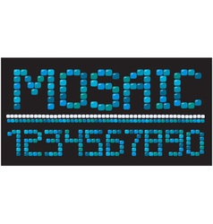 mosaic numerous vector image