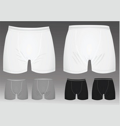 Boxer shorts vector