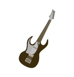 electric guitar isolated icon vector image