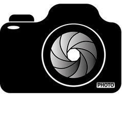 Photocamera vector image vector image