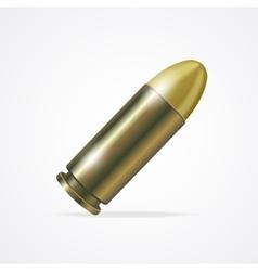 Pistol bullet vector