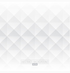 White abstract diamond background vector