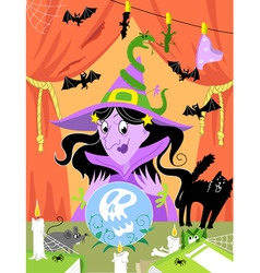 witch2 vector image vector image