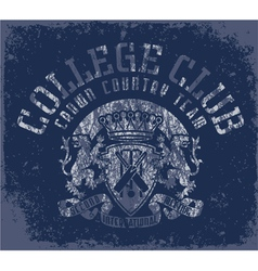 Collegeclub vector