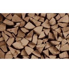 Firewood vector
