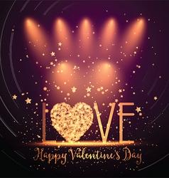 Happy Valentines Day background 0501 vector image