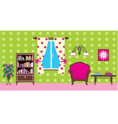 Living room vector