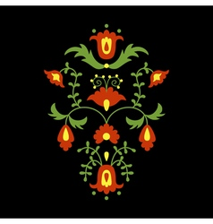 mexican flower vector image