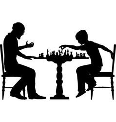Chess prodigy vector image vector image