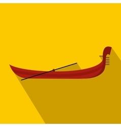 Gondola icon flat style vector