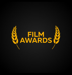 Laurel film awards winners film awards logo vector