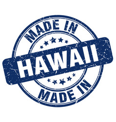 Made in hawaii vector