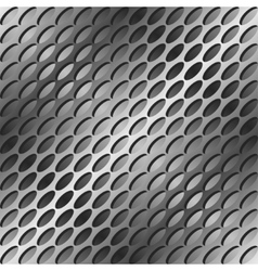 Ovals pattern vector image
