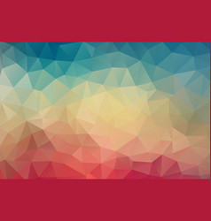 vintage color geometric triangle wallpaper vector image vector image