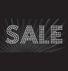 Sparkling Sale vector image