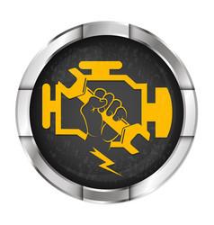 Engine repair symbol vector