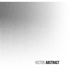 Abstract halftone background vector