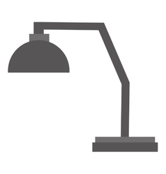 Office lamp icon vector