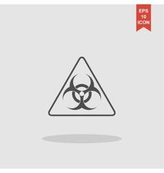 biohazard sign or icon vector image