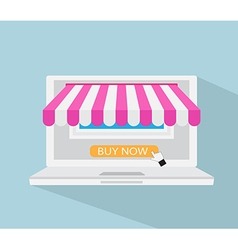 Online Store Online Shopping E-commerce Concept vector image vector image