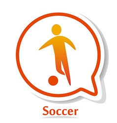 SoccerB vector image