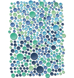 Sea bubbles vector